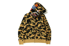 Load image into Gallery viewer, A BATHING APE Type MENS 1ST CAMO SHARK WIDE FIT FULL ZIP DOUBLE HOODIE - BAPEPLUGTO