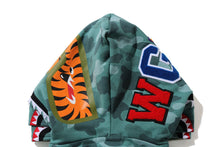 Load image into Gallery viewer, A BATHING APE Type MENS COLOR CAMO SHARK WIDE FIT FULL ZIP DOUBLE HOODIE