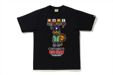 A BATHING APE Type MENS【 BAPE X BIG SEAN 】DETROIT 2 BABY MILO TEE - BAPEPLUGTO