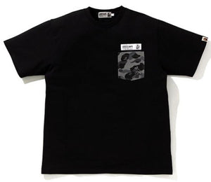 BAPE URSUS CAMO POCKET TEE.  17/APR