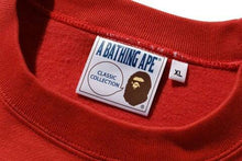 Load image into Gallery viewer, BAPE MEN'S RELAXED FIT COLLEGE CREWNECK - BAPEPLUGTO