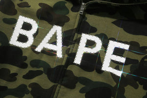IA BATHING APE Type MENS 1ST CAMO CRYSTAL STONE FULL ZIP HOODIE - BAPEPLUGTO