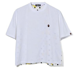 BAPE Ladies' BAPE DOT WIDE TEE.  17/APR