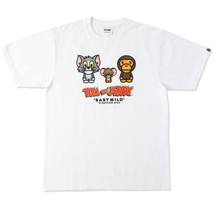 BAPE X TOM AND JERRY BABY MILO TEE 2.  13/MAR - BAPEPLUGTO