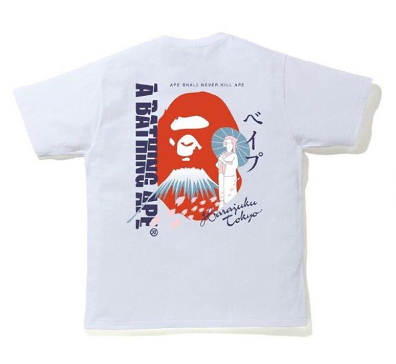 BAPE JAPAN CULTURE SOUVENIR TEE.  29/APR