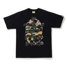 Load image into Gallery viewer, BAPE 1ST CAMO BAPE JAPANESE LETTERS TEE.   24/APR