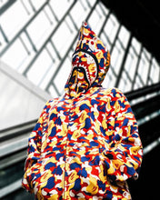 Load image into Gallery viewer, BAPE MALAYSIA CAMO SHARK FULL ZIP HOODIE