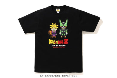 BAPE X DRAGON BALL Z BABY MILO SON GOHAN & CELL TEE BLACK - BAPEPLUGTO