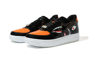 A BATHING APE MAD SHARK BAPE STA LOW BLACK - BAPEPLUGTO