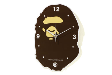 BAPE APE HEAD WALL CLOCK - BAPEPLUGTO