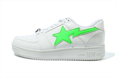 A BATHING APE XO BAPE STA LOW WHITE - BAPEPLUGTO