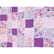 Princess Twin Size Rag Quilt - Perfect For A Princess