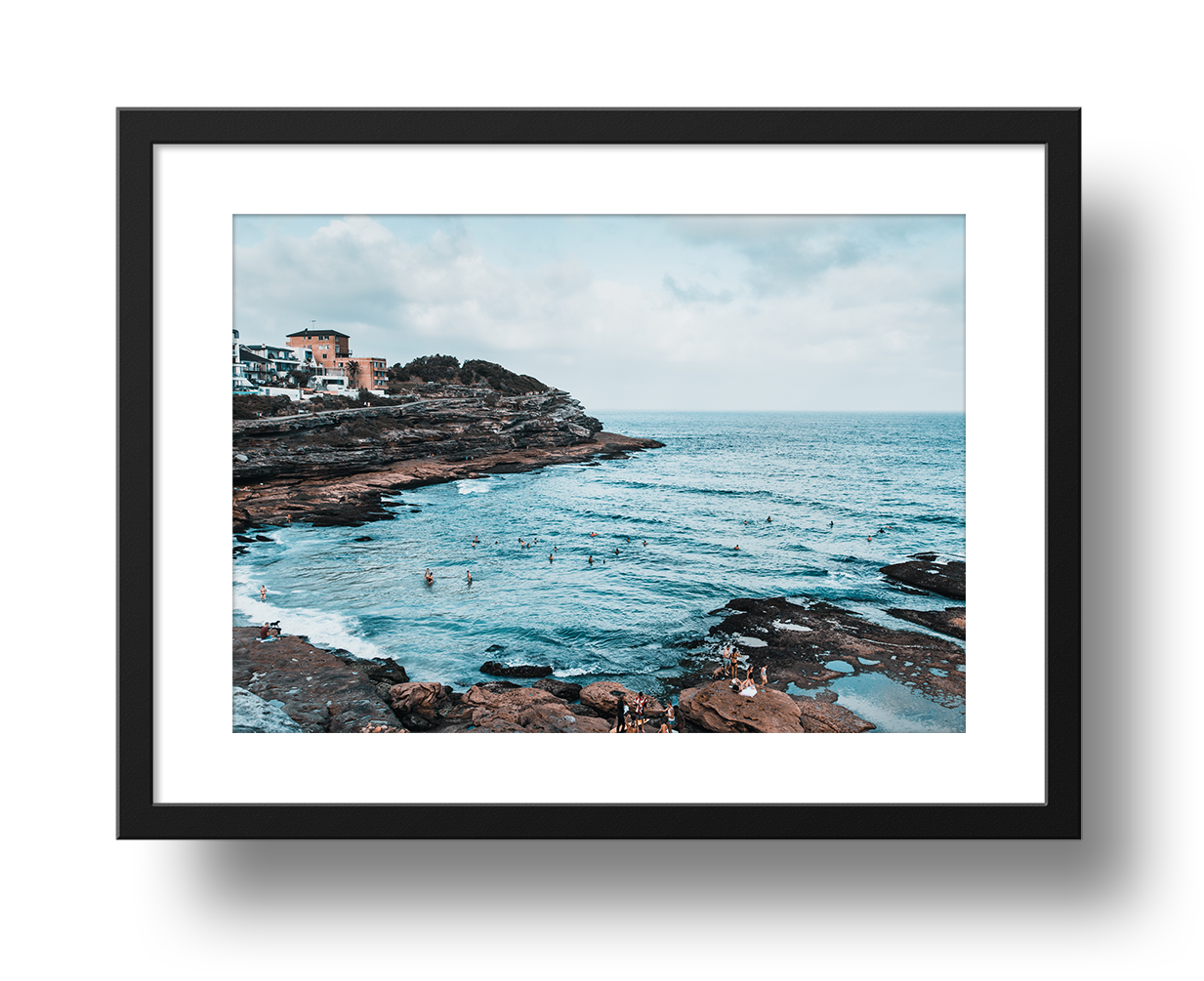 Coastal Walk (Sydney), Framed