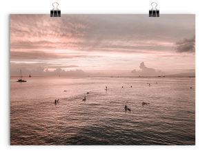 Sunset Sessions (Waikiki), Print