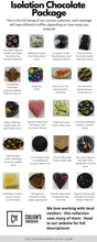 Isolation Chocolates - Gold package (24 pieces) - Colleen's Chocolates