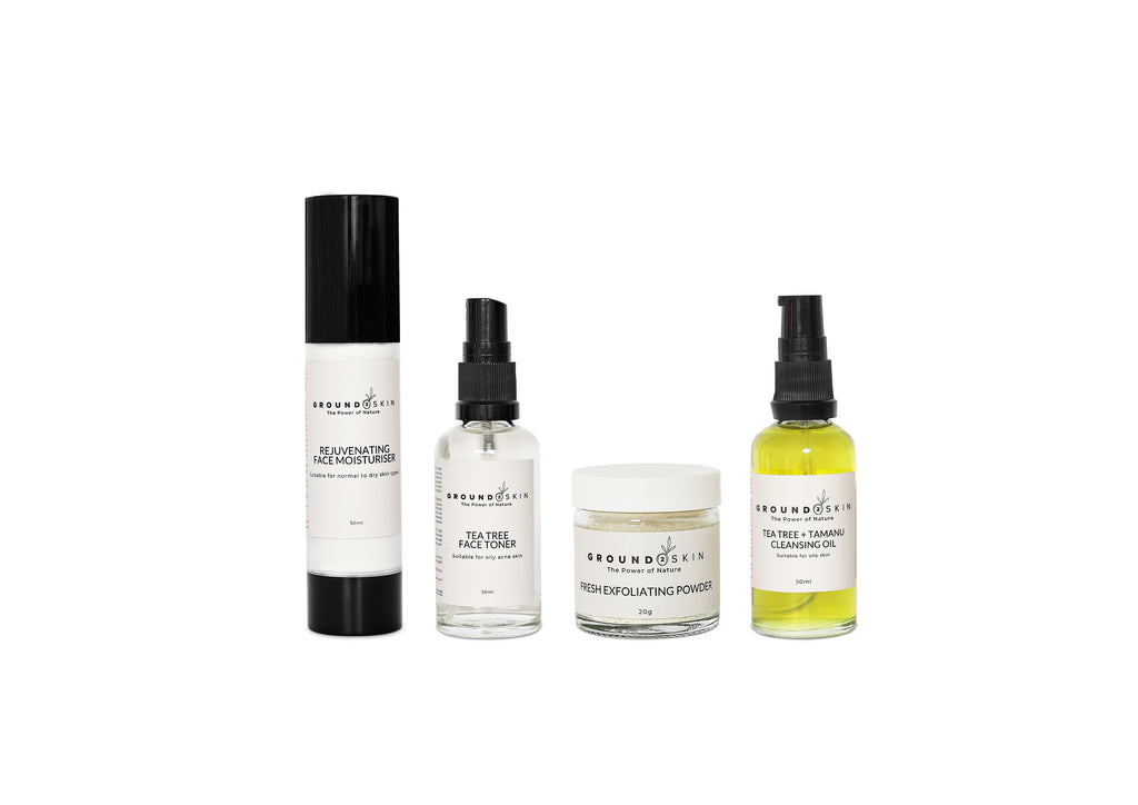 4 step regime TRAVEL [oily/problematic skin]