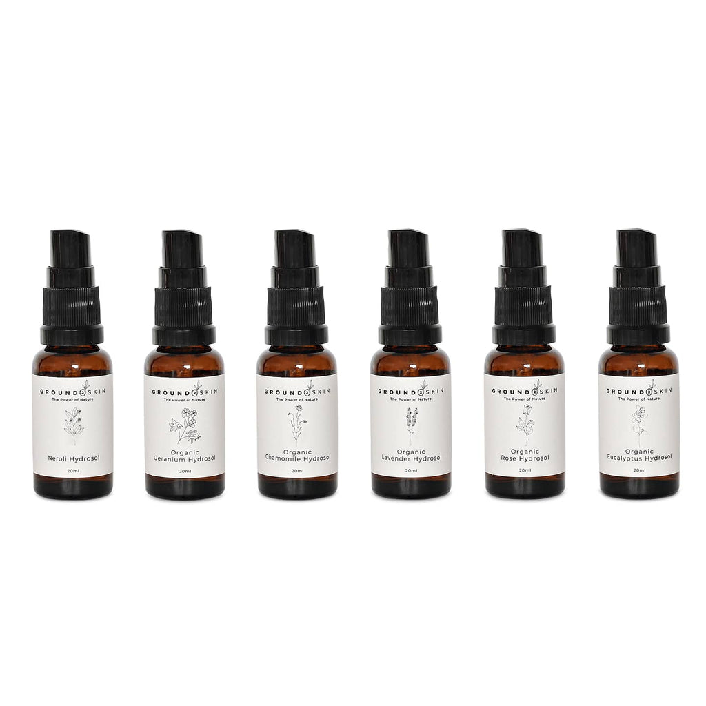 Organic mini hydrosols 6 pack
