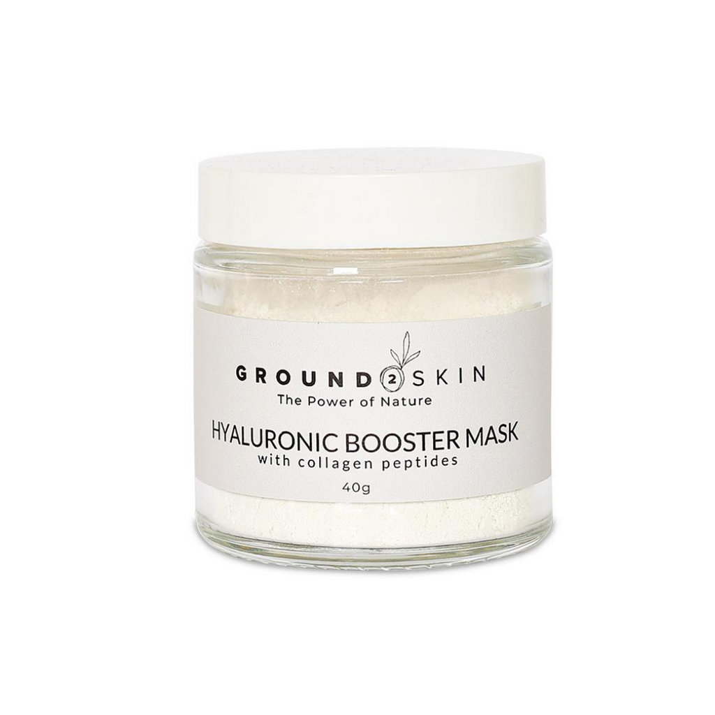 Hyaluronic booster mask