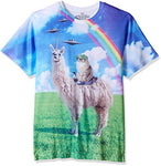 Llamacorn Cat T-shirt