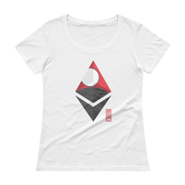 Japan Ethereum T-shirt by Hitoshi Miyata (♀)