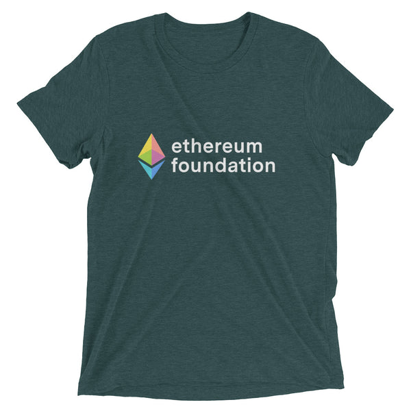 Ethereum Foundation Rainbow Prism T-Shirt (Dark colors)