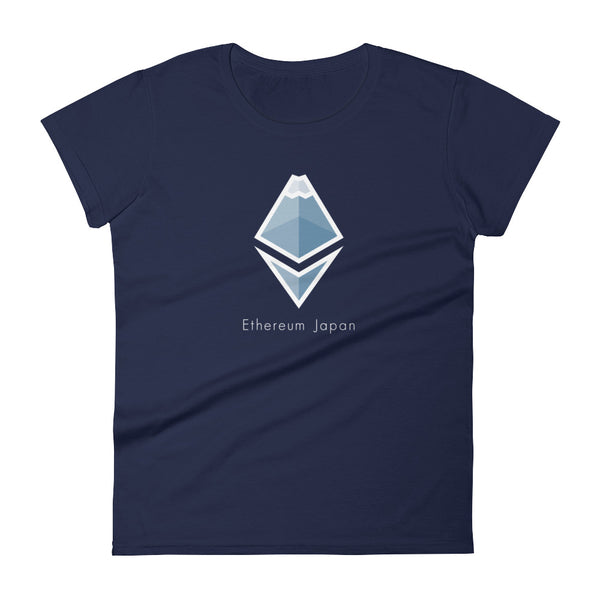 Ethereum Japan Logo T-shirt (♀)