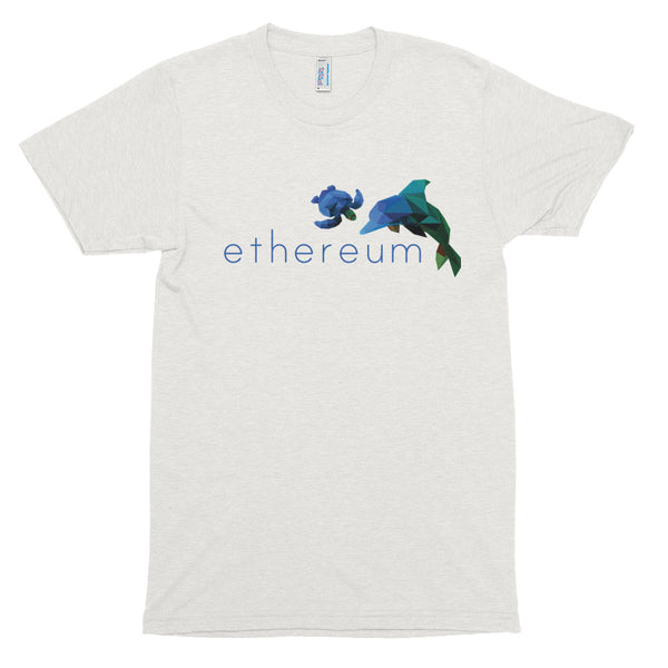 Ethereum Turtle and Dolphin T-shirt