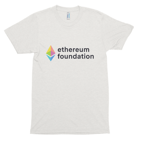Ethereum Foundation Rainbow Prism T-Shirt (White)