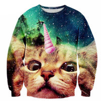Unicorn Cat Sweatshirt