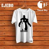 Ejebo Round Neck Iron Man T-Shirt For Mens - Ambitionmart