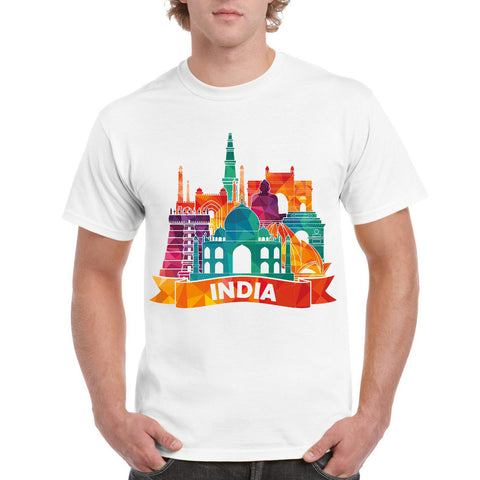 India Men's Round Neck T-Shirt - Ambitionmart