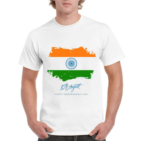 15th Aug Men's Round Neck T-Shirt - Ambitionmart
