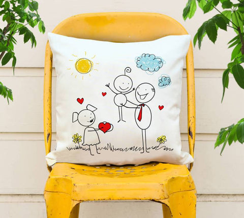 Cartoon Printed Cushions Cover - Ambitionmart