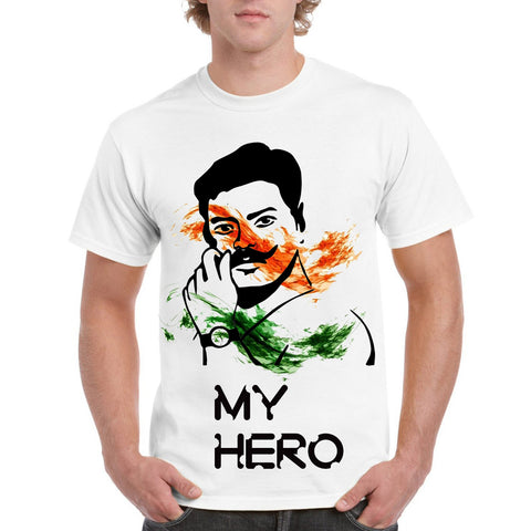 My Hero Men's Round Neck T-Shirt - Ambitionmart
