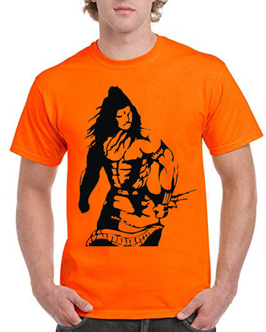 "Ejebo Bhola T-Shirt For Men's ""Angry Shiva"" - Ambitionmart"