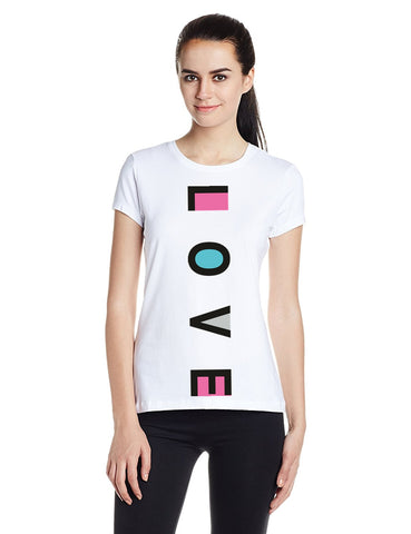 Ejebo Printed Women's Round Neck T-Shirt - Ambitionmart