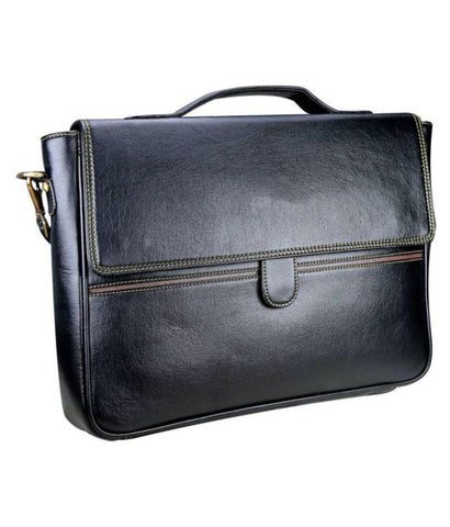 Ejebo Tongue Black Office Bag - Ambitionmart