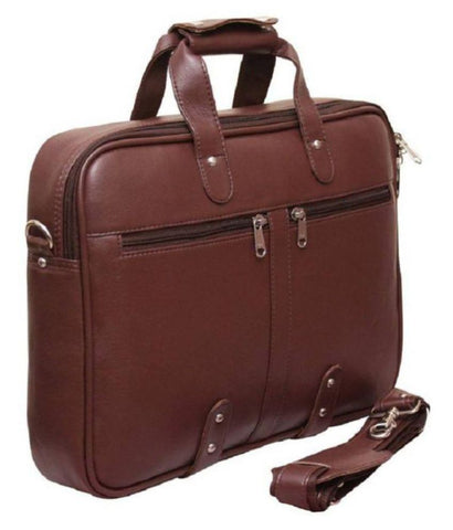 Ejebo Double Chain Brown Office Bag - Ambitionmart