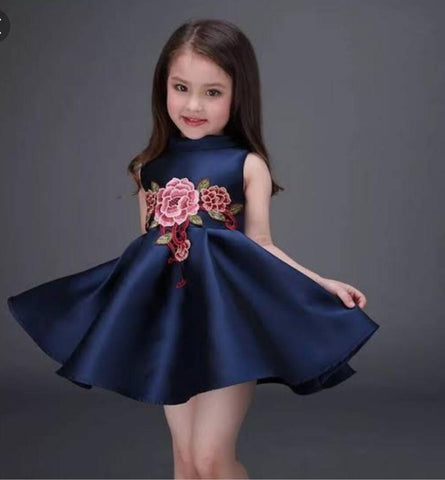 Beautiful Blue Frock - Ambitionmart