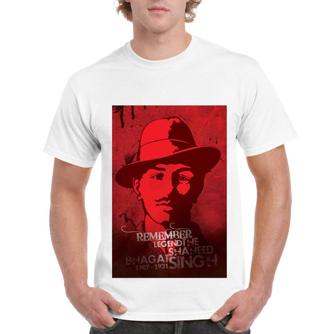 Saheed Bhagat Singh Men's Round Neck T-Shirt - Ambitionmart