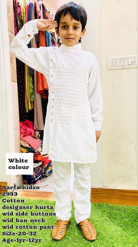 Aarfa Kidzo Cotton Designer With Pant 2993 - Ambitionmart