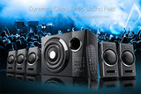 F&D 5.1 Bluetooth Speakers F3000X - Ambitionmart