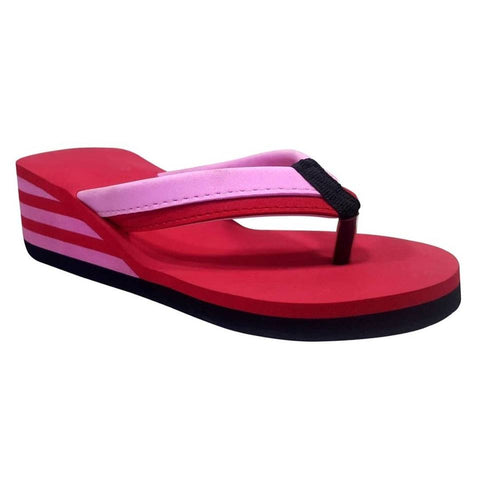 PKKART Red High Heel FlipFlop For Women & Girls (SVF-07) - Ambitionmart