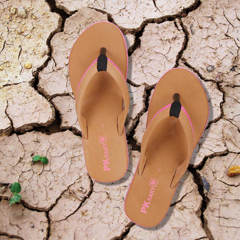 PKKART Tan Slipper (FFF-020-TN) - Ambitionmart