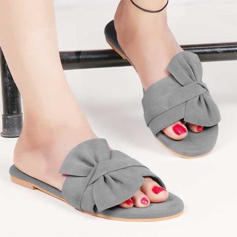 PKKART Grey Flats For Women and Girls (M-012-GR) - Ambitionmart