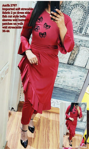 Aarfa Imported 2pc Dress 2797 - Ambitionmart