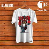 Ejebo Round Neck Transformer T-Shirt For Mens - Ambitionmart
