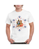 "Ejebo Bhola T-Shirt For Men's ""Lord Shiv Parwati "" - Ambitionmart"