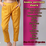 Aarfa Mustard Color Pant - Ambitionmart