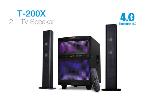 F&D 2.1 TV Bluetooth Speaker T-200X - Ambitionmart